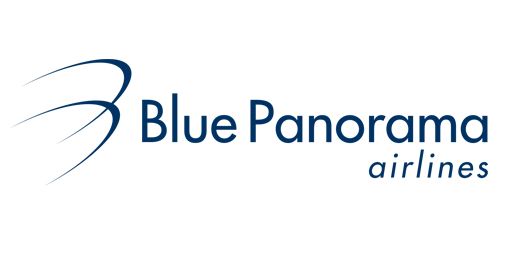 Blue Panorama Airlines Logo